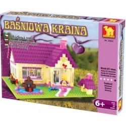 DROMADER 24804 Domček  detská stavebnica 457 ks