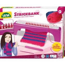 LENA Strickbank sada na pletenie