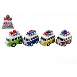 TEDDIES Autobus zo svetom a zvukom 10cm