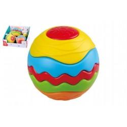 PLAY GO TOYS skladacia dúhová lopta