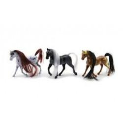 TEDDIES Plastový kôň 10cm