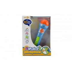 MUSICAL MICROPHONE detský mikrofón zo zvukmi 25 cm