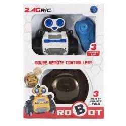TEDDIES Robot RC pásový na diaľkové ovládanie s guľou