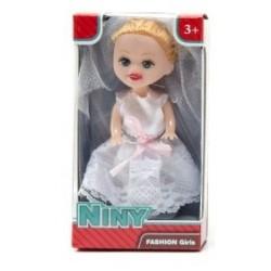 FASHION DOLLS Niny bábika nevesta 12cm