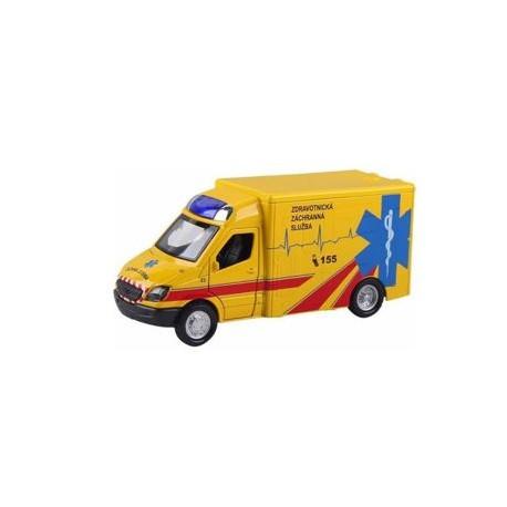 SHM Kovový model auta Ambulancia 1:36