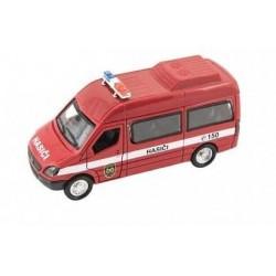 SHM Kovový model auta záchranka 1:36