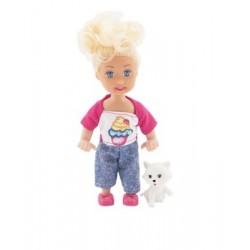 TEDDIES Cute Girl bábika