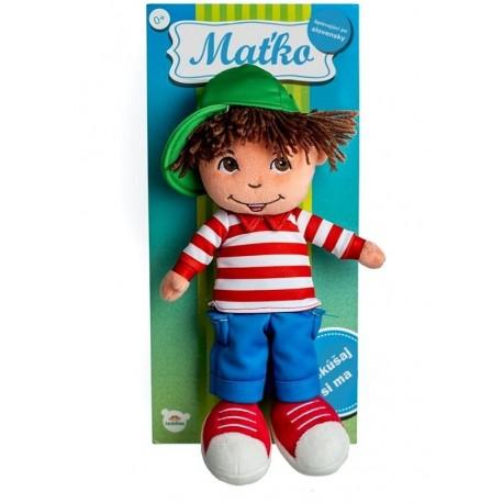 TEDDIES Latkova bábika chalan Maťko plyš 30 cm