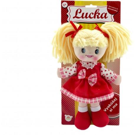 TEDDIES Latkova bábika Lucka plyš 30 cm