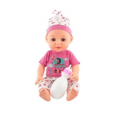 TEDDIES Pijacia a čuracia bábika 31cm