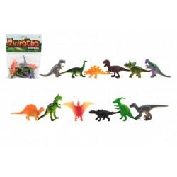TEDDIES Mini zvieratká Dinosaurus 12ks