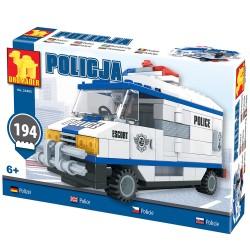 DROMADER 23405 Polícia detská stavebnica 194ks