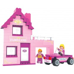 DROMADER 24406 Dom pre dievčatá stavebnica 159ks