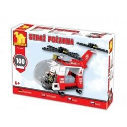 DROMADER 92889 Záchranársky vrtuľník stavebnica 100ks